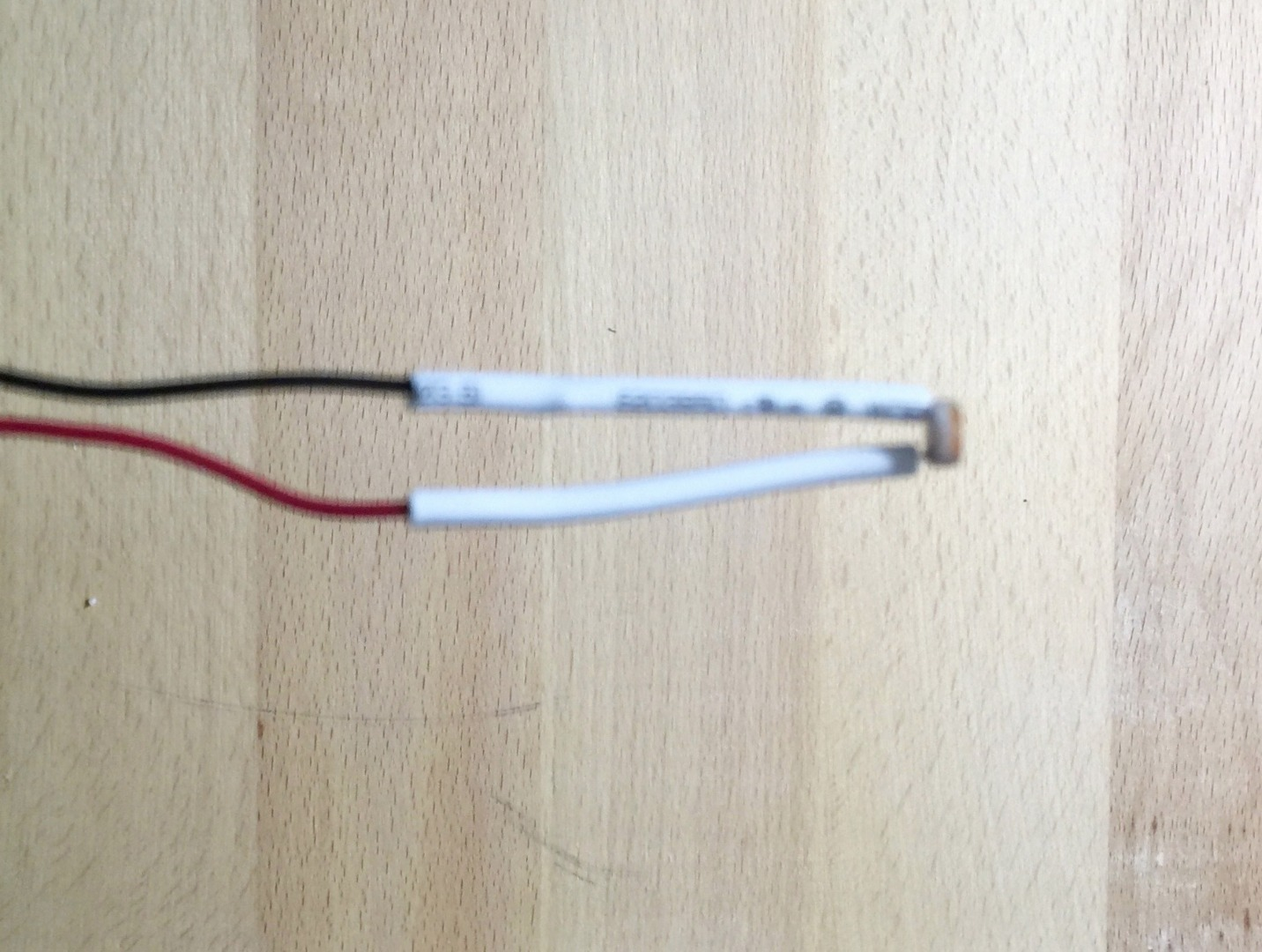Picture of Solder the Wires to the LDR...