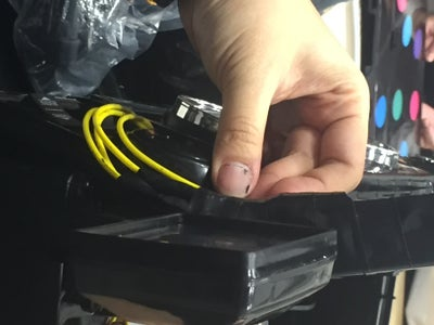 Step 3.3.6: Hiding the Wiring/Reassembly