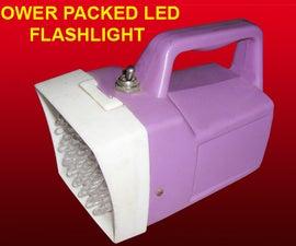POWER PACKED LED FLASHLIGHT