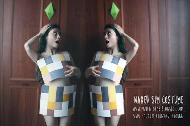 Picture of Naked Sim Costume