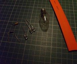 Making a 120V LED C7 bulb