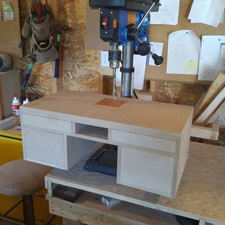 Make It - Drill Press Table