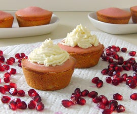 Pomegranate Cake Tarts