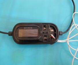 Belkin 6 FM Transmitter Antenna modification