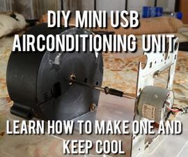 DIY Portable & Simple USB Air Conditioner