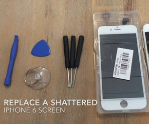 How to Replace a Shattered IPhone Screen