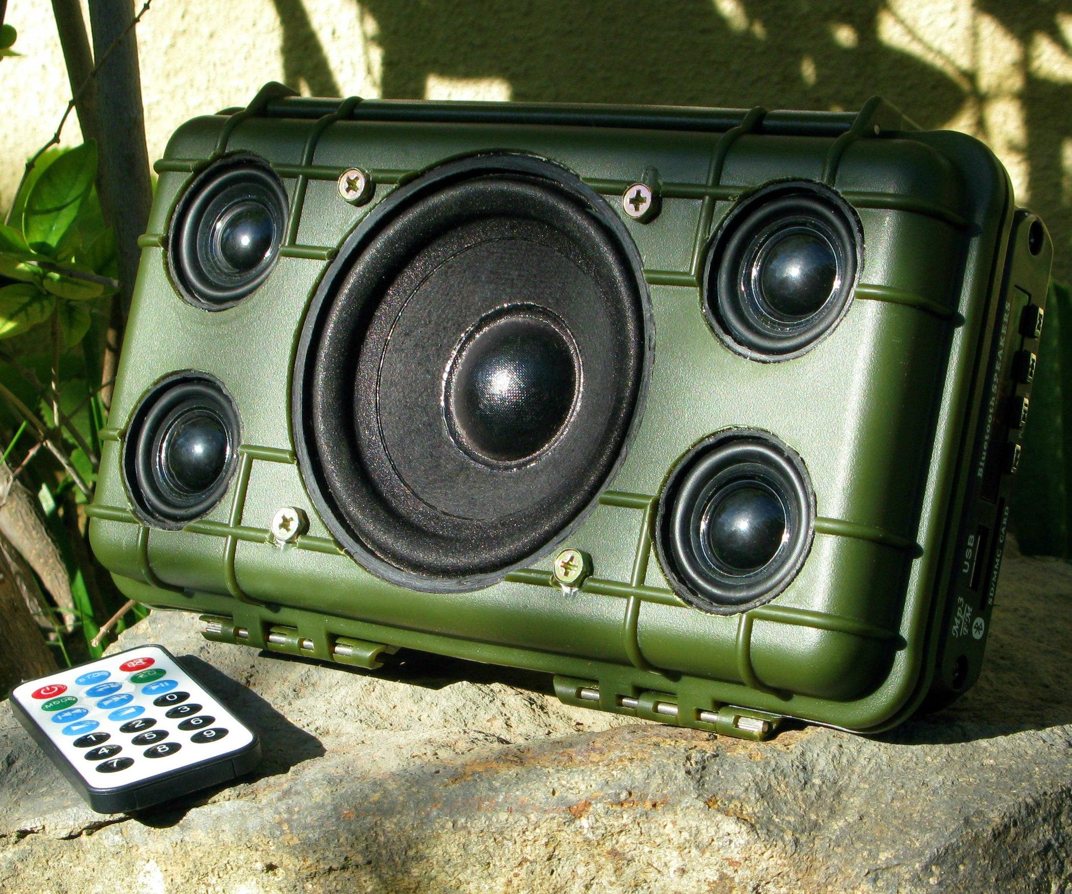 DIY Tough Bluetooth Boombox (Lasts 20hrs!)