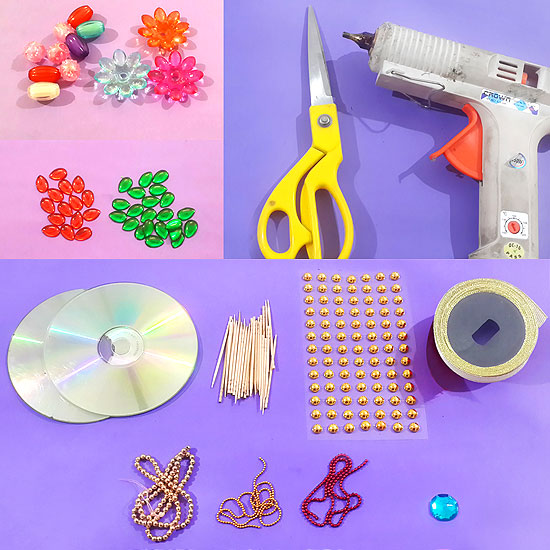Picture of Things Needed to Make a Beautiful Wall Hanging