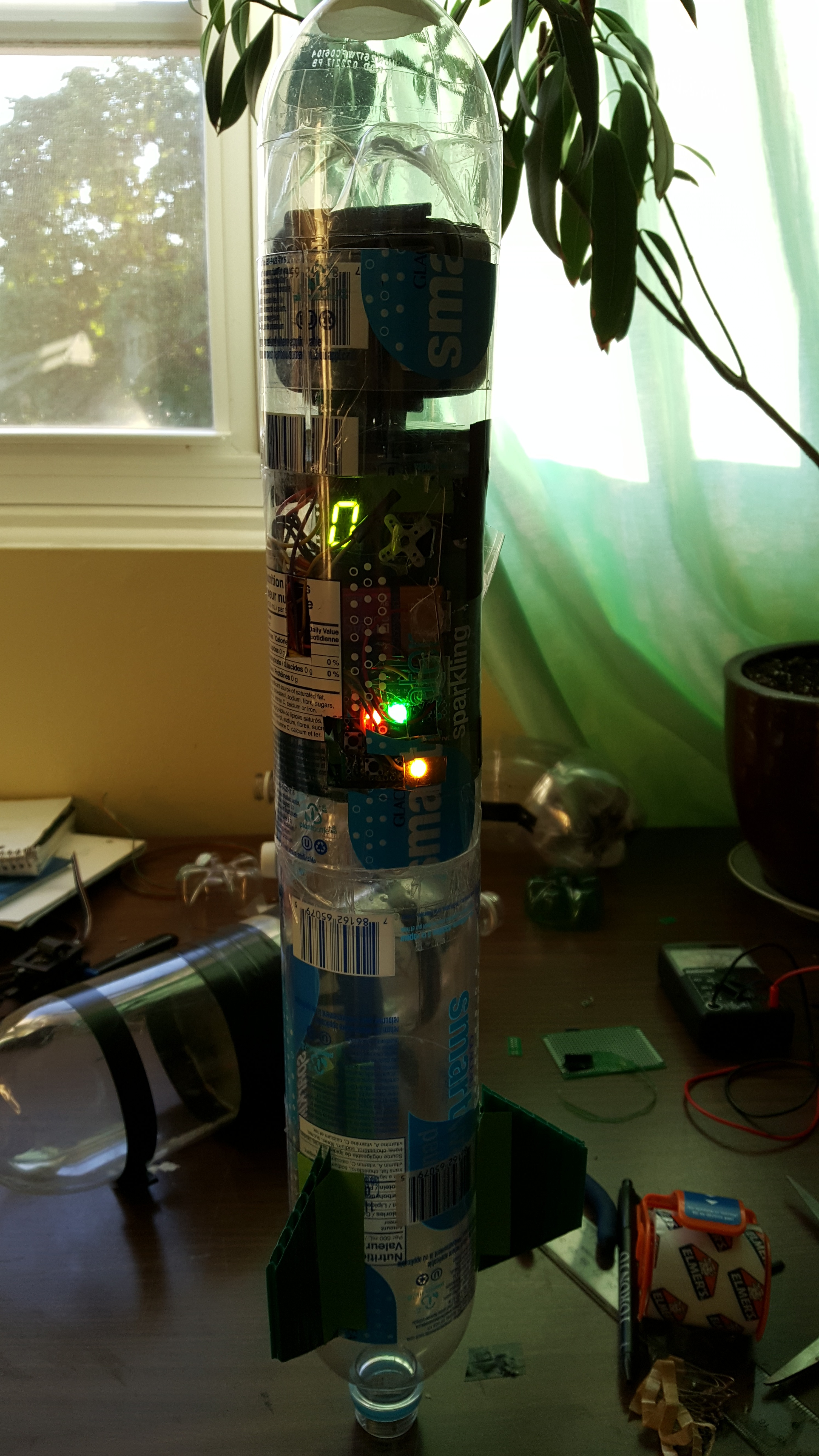 Picture of Project Build- Delta-V Water Rocket