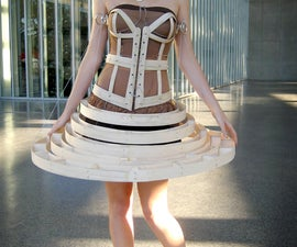 The Dress Made of Wood
