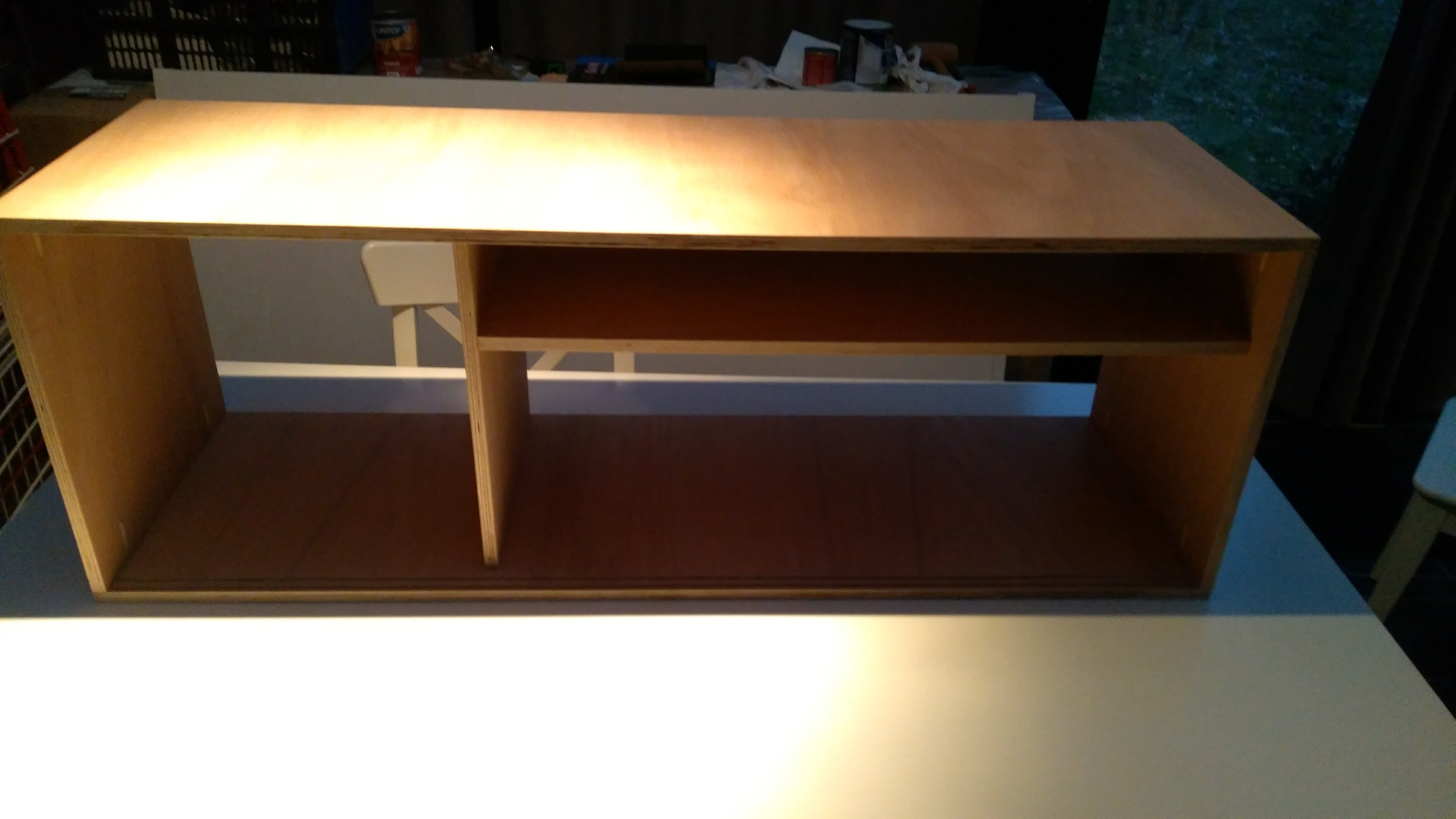 Picture of Finishing the Cabinet