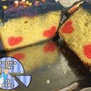 Doctor Who Hidden Hearts Cake