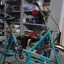 Restore vintage stationary bike
