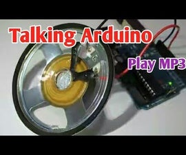 Talking Arduino | Playing a MP3 With Arduino Without Any Module | Playing Mp3 File From Arduino Using PCM
