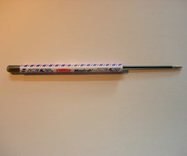 'Pneumatic' pen gun thingie