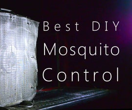 How to Get Rid Of Mosquitoes with a Fan & Window Screen
