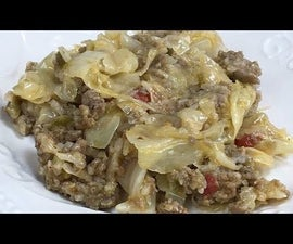 Beef and Cabbage Casserole