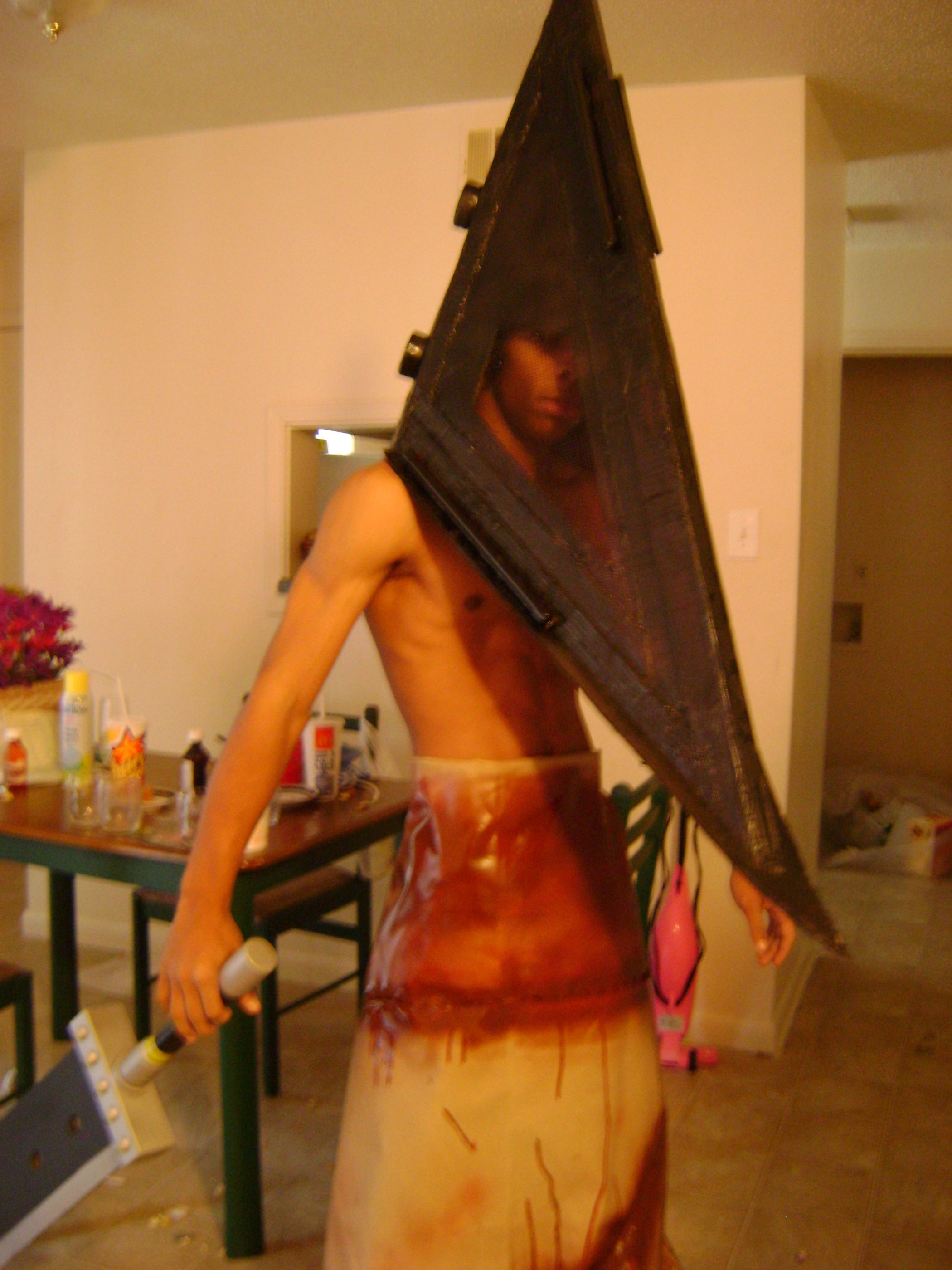 Pyramid Head Costume Instructables