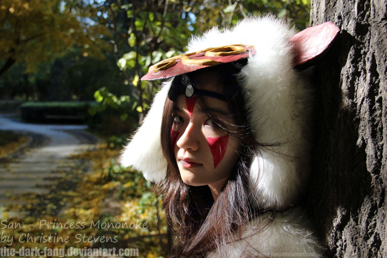 Princess Mononoke Costume 9 Steps With Pictures Instructables
