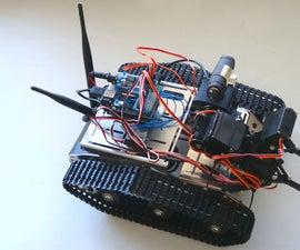 Assemble Kuman Wi-Fi Robot With Camera and Manipulator