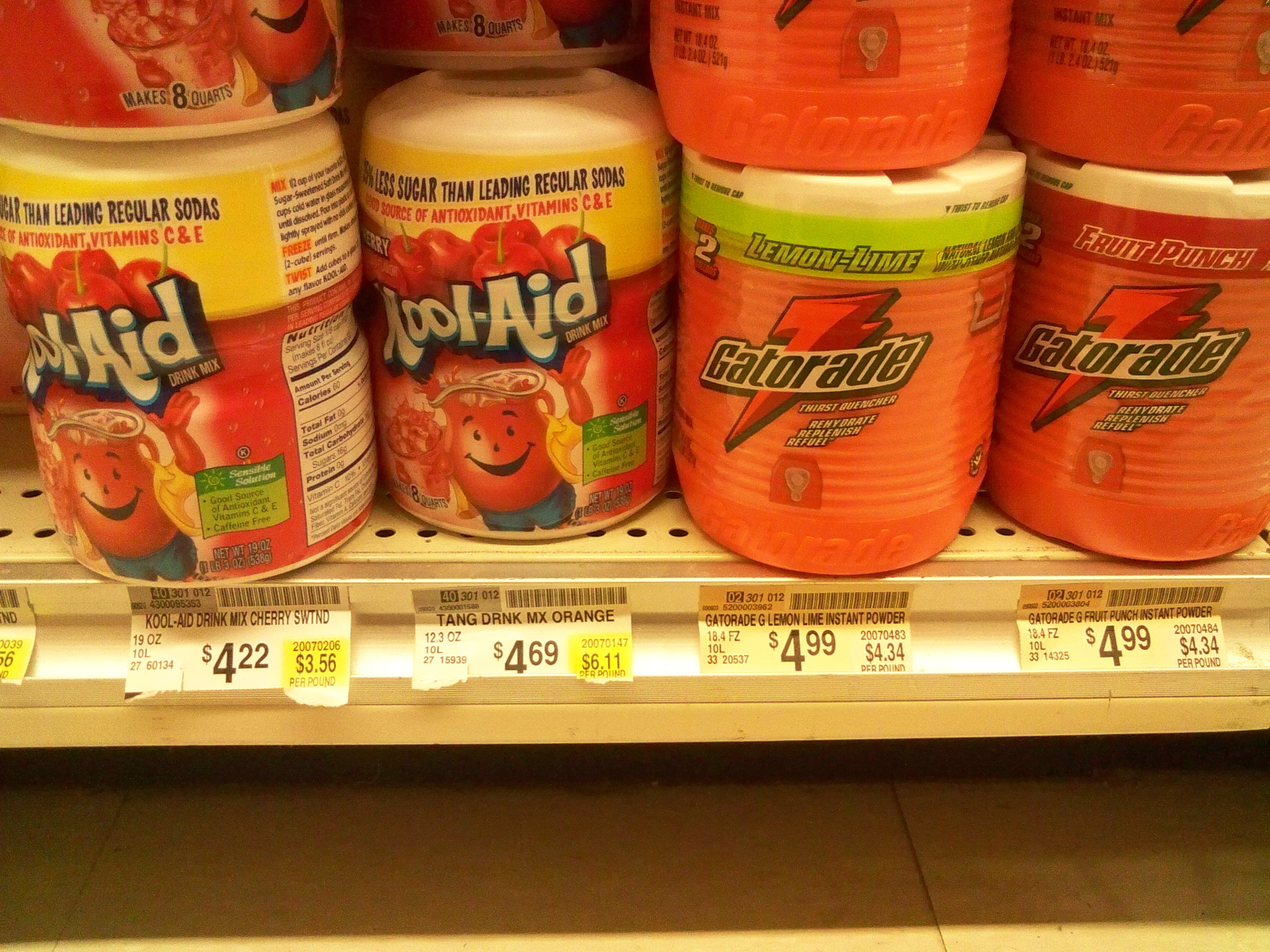Picture of Kool-Aid: $2.20 / Gal