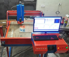 Homemade 550$ Custom CNC Router