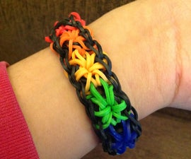 How To make Rainbow Loom Starburst