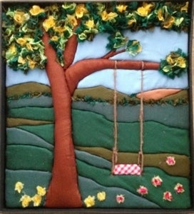 No Sew  No Glue -Wall Quilt Art