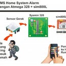 SMS System Alarm Using Sim 800L, Motion Detector and Atmega 328