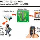 SMS System Alarm Using Sim 800L, Motion Detector and Atmega 328