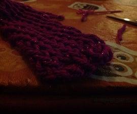 Basic Scarf on a Knitting Loom