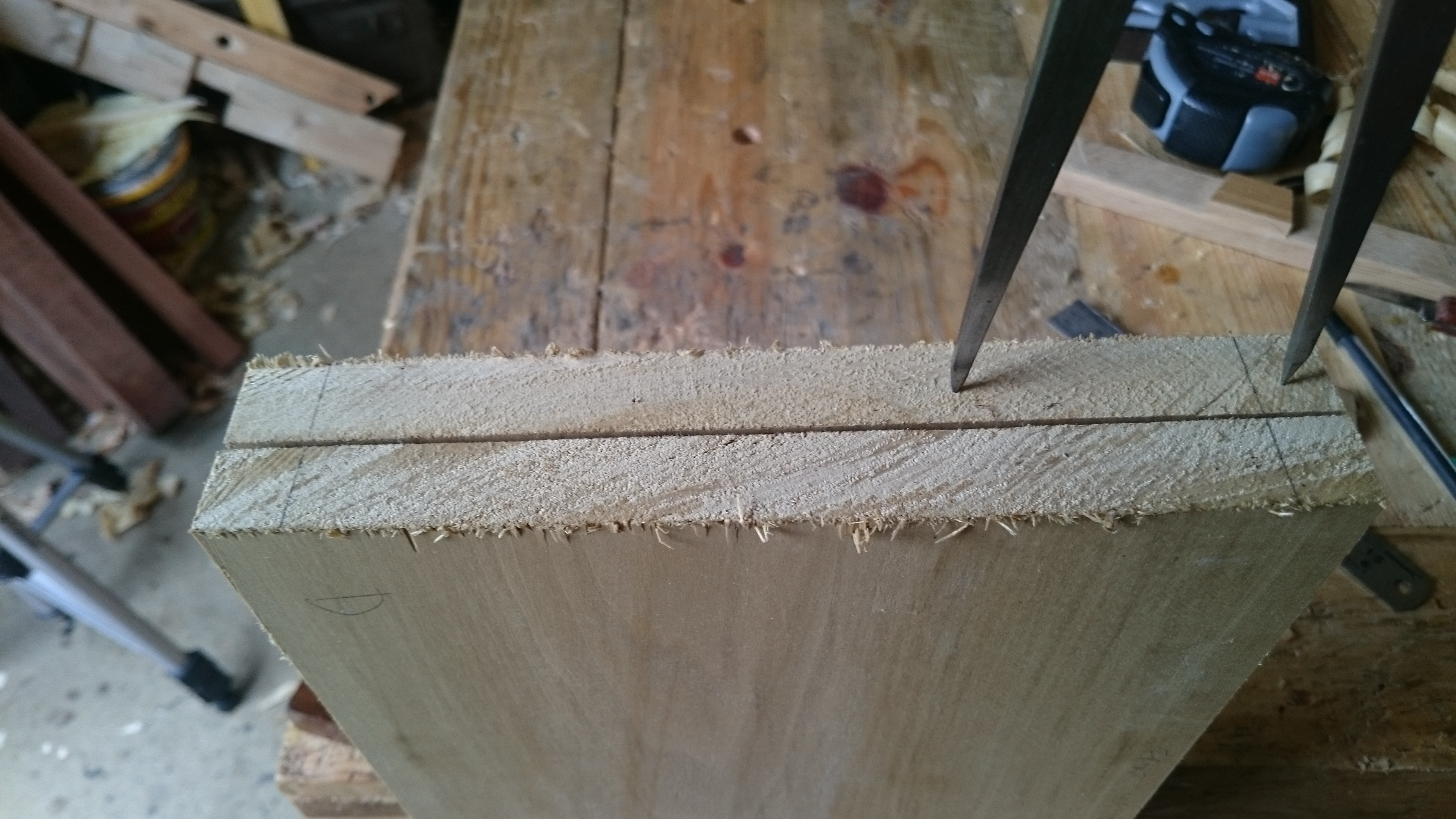 Picture of Marking Out the Dovetails