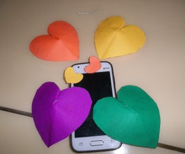 3D Hearts Free To Make And Easy