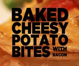 Baked Cheesy Potato Bites (with Bacon)