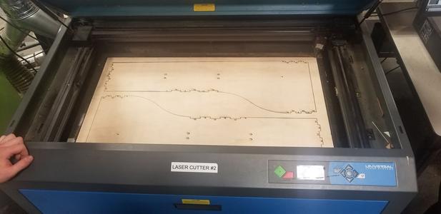 Laser Cut the Frame