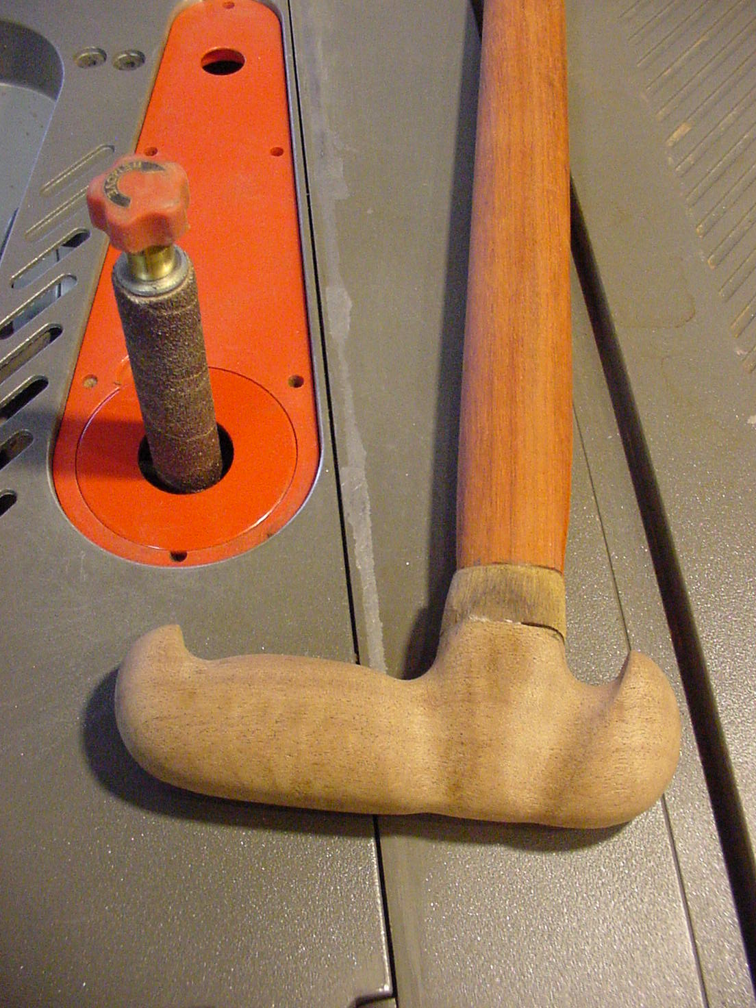 Picture of Assembling the Cane.