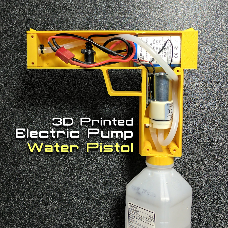 Picture of Electric Pump Water Pistol
