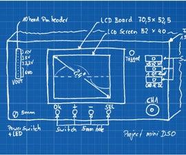 Mini oscilloscope kit (part 1)
