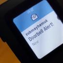 Old Doorbell + Pebble Smartwatch = Smart Old Doorbell