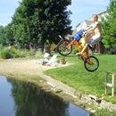Pond-Jumping Ramp