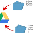 Using Google Drive to backup any folder & for multiple accounts!