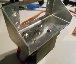 Pan & Tilt Servo bracket controlled by Arduino