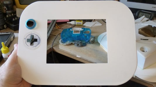 Installing Joystick and D-pad Holes