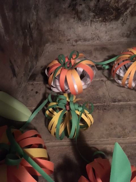 Picture of Vine Twists for the Top of the Pumpkins