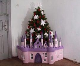 Christmas Tree Princess Castle - DIY 3D Puzzle