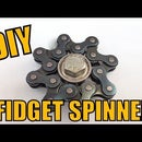 Fidget Spinner (using Bike Chain) in 90 Seconds - DIY