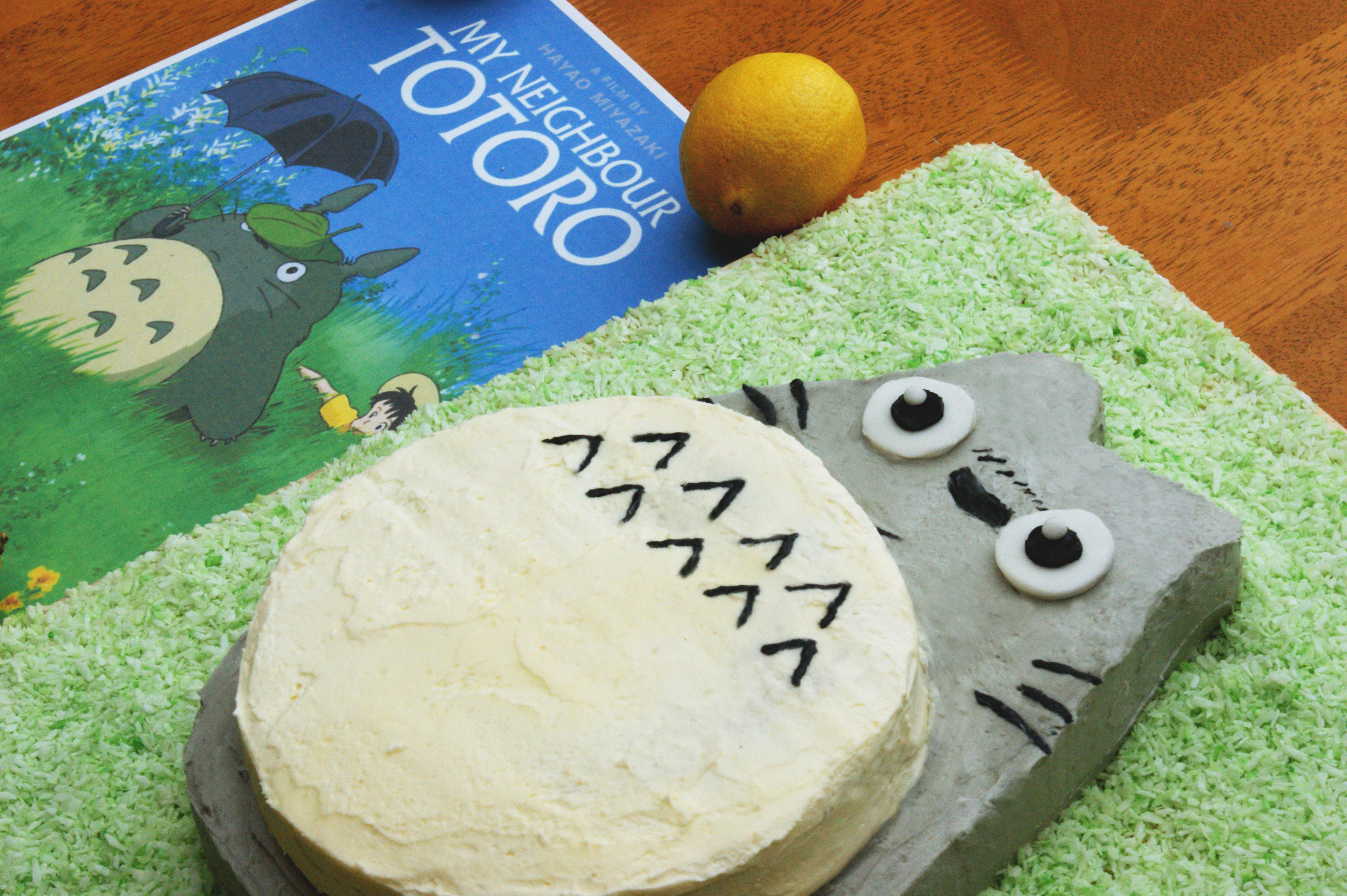 Picture of Lemon Totoro Cake (レモントトロケーキ)