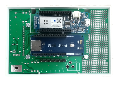 Mount the Arduino MKR Board and ENV Shield