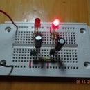 Dual LED flasher
