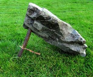 Split Stick Deadfall Trap